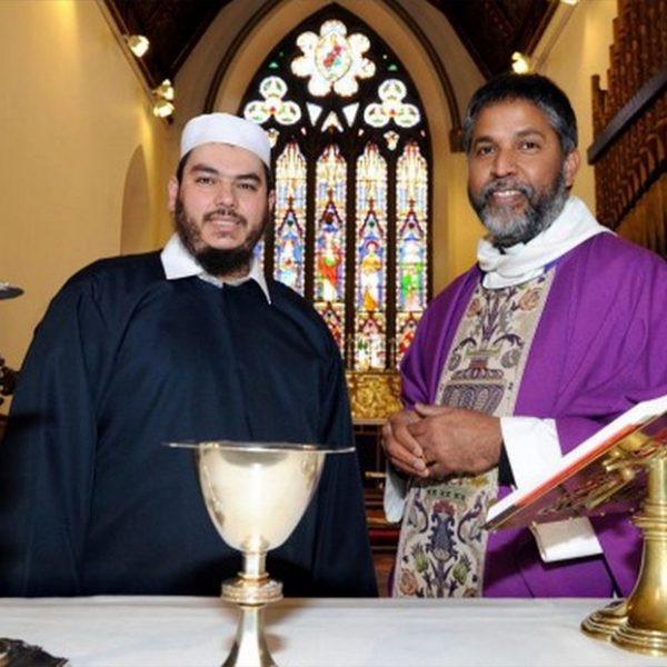 Sheikh Amed Magghabri & Rev Isaac Poobalan